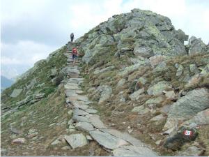 Arrivée dallée au Speikboden (2.517 m)