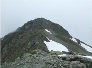 Le sommet du Rastkogel (2.762 m)