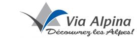 Via-alpina : logo officiel