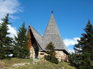 Chapelle à côté du refuge Zollnersee Hütte (1.720 m)