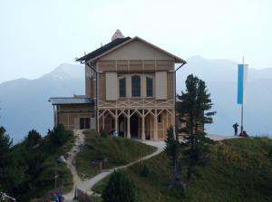 A Schachen Haus (1.866 m), souvenir de Louis II de Bavière